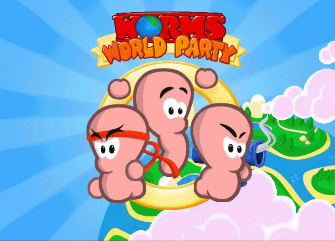 "Retrohelg #2: ""Worms World Party"""