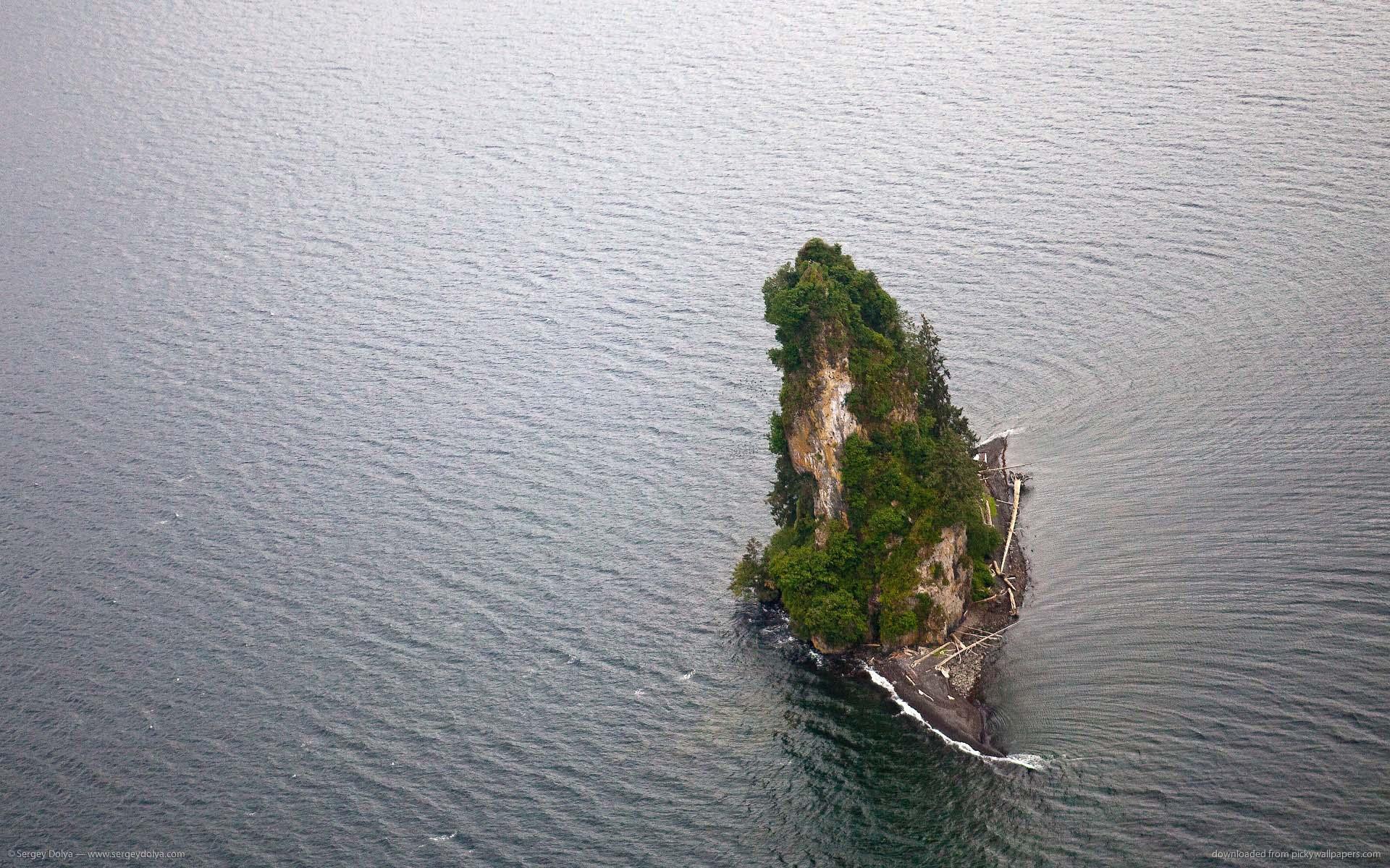Klassiker: En innsjø på en øy i en innsjø?