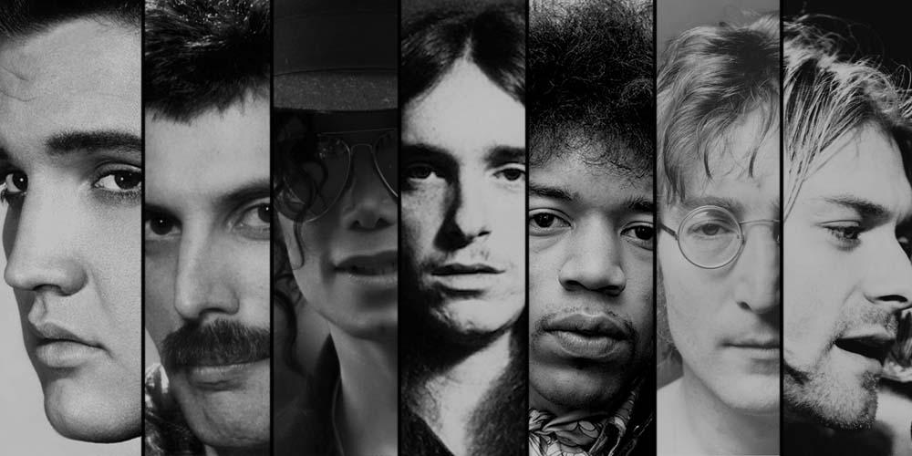 12 kjente artister som forlot oss for tidlig