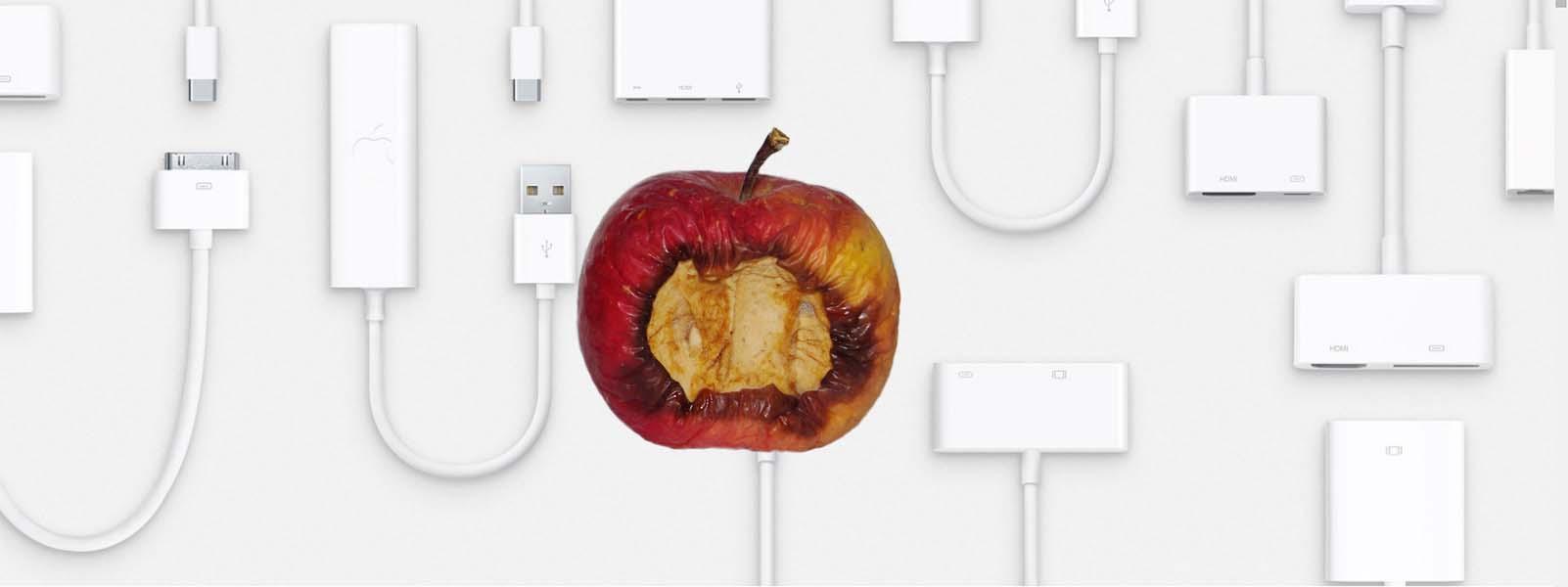 Et råttent eple