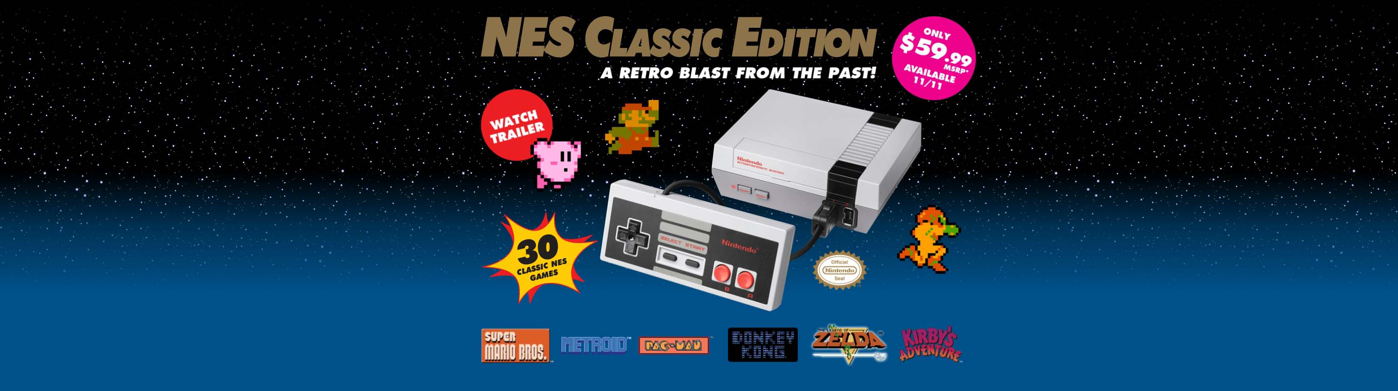 Reklame-film for nye NES Classic Edition