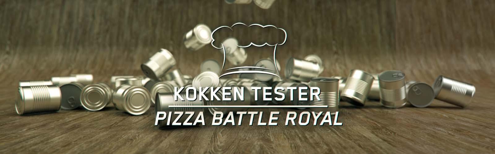 Kokken tester: Pizza (battle royal)