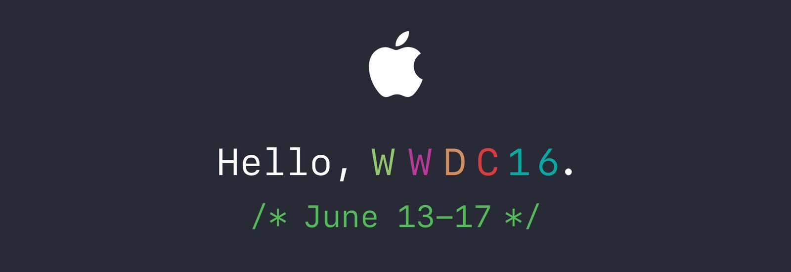 Live fra WWDC 2016