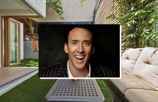 Nicolas Cage skal selge huset. Løp og kjøp!