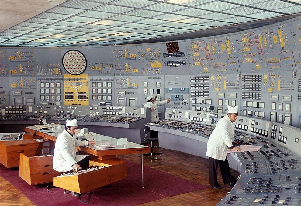 Sovjetiske kontrollrom