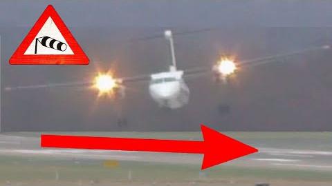 Crazy crosswind landing