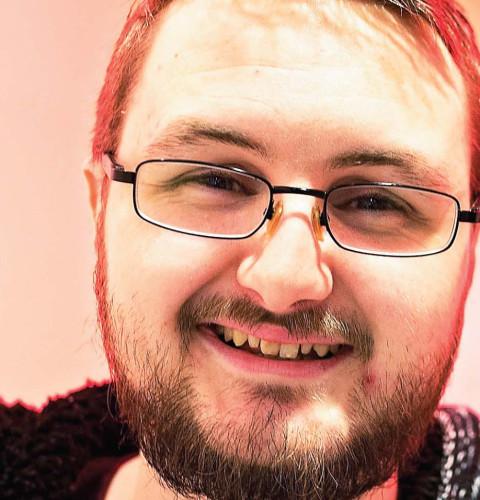 """Portrett: Mathias """"saihtam"""" Røyrvik"""