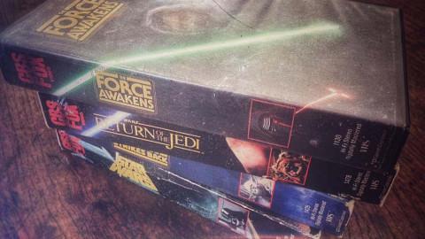 Moderne filmer på VHS
