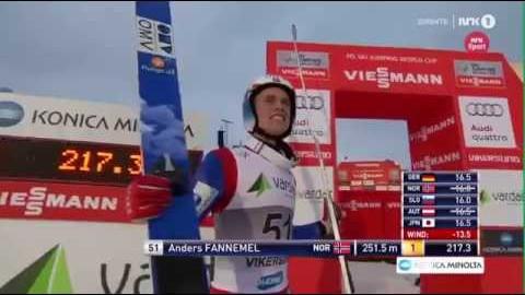 Anders Fannemel 251,5 meter