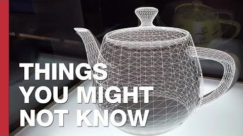The Utah Teapot: The World's Most Famous Teapot