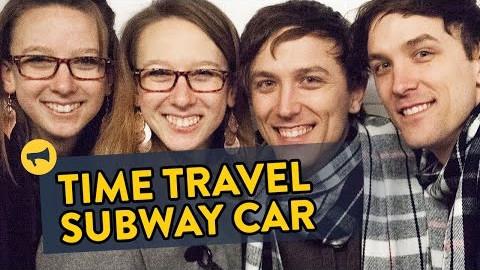 Time Travel Prank med tvillinger