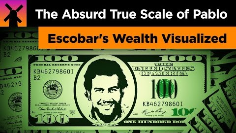 Pablo Escobar's Wealth Visualized