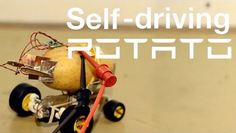 Self driving potato
