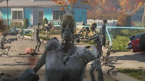 Accidentally Unleashing 50 Synths In Fallout 4's Opening Scene