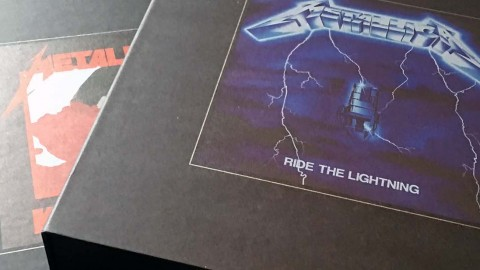 """Metallica Deluxe Bokser: """"Kill 'Em All"""" og """"Ride The Lightning"""""""