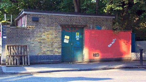 Graffiti lek med myndighetene
