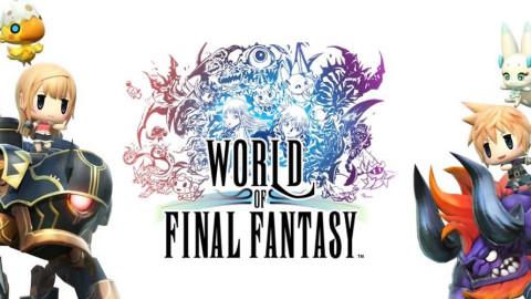 World of final fantasy trailer og gameplay