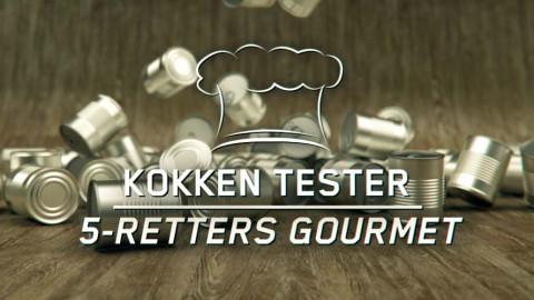 Kokken tester: 5-retters gourmet