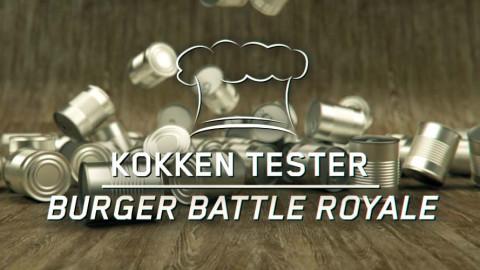 KOKKEN TESTER: BURGER (BATTLE ROYAL)